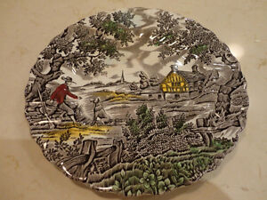5 Vintage Plates, and a Cup from the 1940's to the 1960's Kitchener / Waterloo Kitchener Area image 2