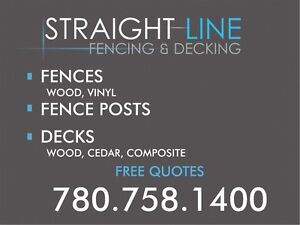 YOUR  EDMONTON FENCEING & DECKING SPECIALISTS