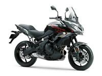 NEW 2021 Kawasaki Versys 650 ABS**GREEN, GREY*FREE 4 YR WARRANTY & DELIVERY**