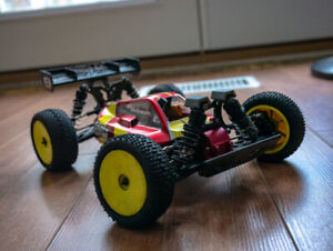 Upgraded Losi Mini 8ight RC