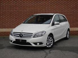 2013 13 Mercedes B Class 1.8 B180 CDI BlueEFFICIENCY SE 5dr (White, Diesel)
