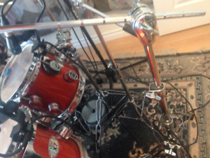 Assorted cymbal and snare stands