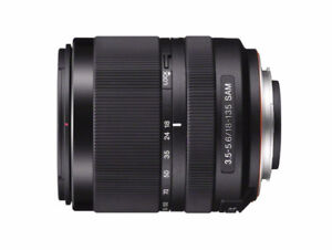 Sony A57 Digital SLT with 18-135 mm lens, UV filter and bag