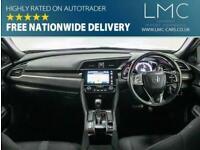 2018 Honda Civic 1.5 VTEC SPORT 5d AUTO 180 BHP Hatchback Petrol Automatic