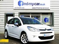 2013 63 Citroen C3 1.6e-HDi ( 90bhp ) Airdream Selection in White £0 Road TAX