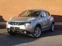 2012 12 Nissan Juke 1.5 dCi Teckna 5dr (Silver, Diesel)