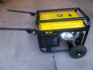 New CHAMPION 5500W rated / 6250W surge power generator