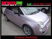 Fiat 500 1.2 STOP/START NIL DEPOSIT FINANCE WITH WARRANTY 2 LADY OWNERS