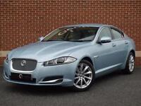 2012 62 Jaguar XF 2.2 TD Premium Luxury 4dr (Blue, Diesel)