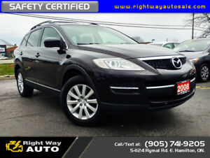 2008 Mazda CX-9 GS | AWD | 7 PASS | SAFETY CERTIFIED