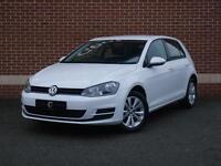 2014 14 Volkswagen Golf 1.6 TDI SE 5dr (start/stop) (White, Diesel)