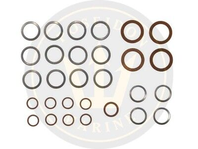 Fuel washer seal kit fuel pipe for Volvo Penta AQD21A MD21A