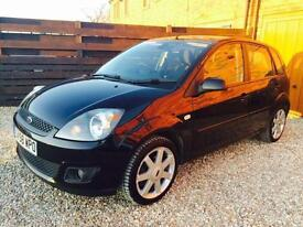 2009 FORD FIESTA 1.4 ZETEC BLUE EDITION IN BLACK