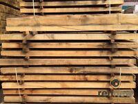 New Oak Untreated Garden Railway Sleepers | Landscaping | 2.4 x 200 x 100