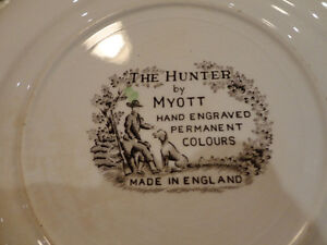 5 Vintage Plates, and a Cup from the 1940's to the 1960's Kitchener / Waterloo Kitchener Area image 3