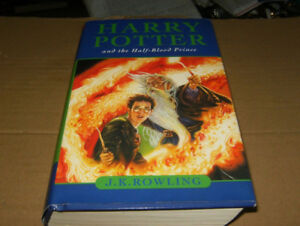 harry potter hard cover book the half blood pince mint cond
