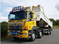 HINO FY 700 3241 8 X 4 Steel Body Tipper