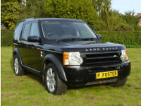 Land Rover Discovery 3 4x4 2009 TDV6 Manual 4WD.