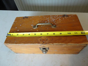 Custom Made Solid Wood Tool Box - from early 70's Kitchener / Waterloo Kitchener Area image 5