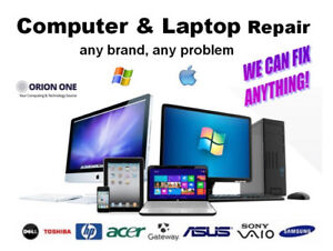 COMPUTER & LAPTOP REPAIRS, UPGRADES. DATA RECOVERY & TRANSFER!