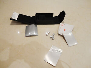 Deck of Aluminum Coated Cards & Chrome Steel Dice with case