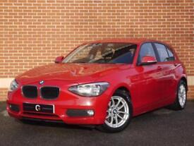 2014 64 BMW 1 Series 1.6 116d EfficientDynamics Sports (Red, Diesel)
