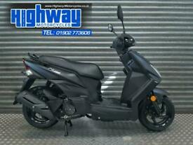 2020 Sym Mask 125 EFI Matt Black Scooter Learner Legal Latest Model P/X Welcome