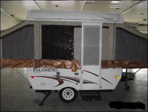 2011 PALOMINO POP UP TENT TRAILER