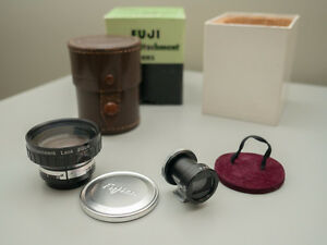 Fuji Wide-Attachment Lens with Finder for Fujica-35 Camera *Mint