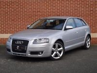 *12 MTHS WARRANTY*2008(08)AUDI A3 2.0 TDI(140BHP)SPORTS 6 SPEED 5DR*IMMACULATE INSIDE OUT*MUST SEE*