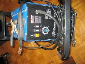 1 time Used Mig flux welder 90Amp 110volt with cart and new tips