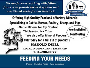 Livestock feed and mineral