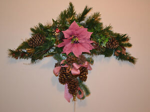 Christmas Trees, Swags, Baskets. Wreaths, Candlelabra, etc. .