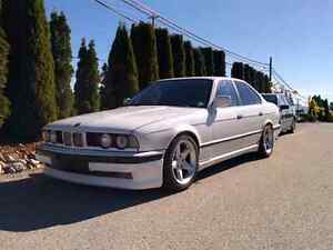 1990 BMW 535is 5 speed manual!