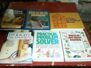 6 Hard cover How to do Books. $2.00 each