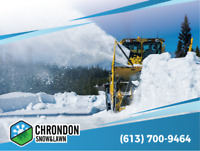 Snow Removal --* ORLEANS *—On Call Snow Removal