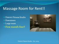 Massage Room for Rent --- First Month Free