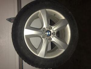 Winter (turned AllSeason) BMW Dunlop Tires & Rims used 1 year