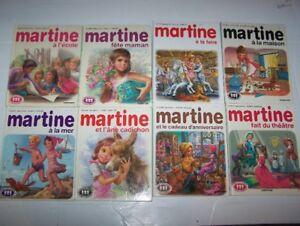 50 Livres Martine et autres