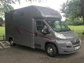 SALE AGREED***Horsebox 3.5t Citroen Relay John Oates contact us for more options