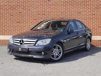 2010 60 Mercedes C Class 2.1 C220 CDI BlueEFFICIENCY Sport 4dr (Grey, Diesel)