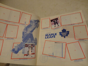 1982 NHL Hockey Sticker Album Kitchener / Waterloo Kitchener Area image 4
