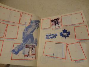 1982 NHL Hockey Sticker Album Kitchener / Waterloo Kitchener Area image 4
