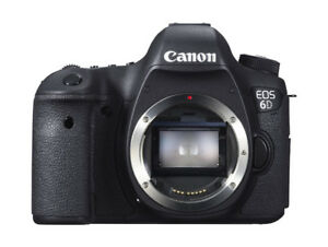 Canon EOS 6D (BODY ONLY) -- BRAND NEW