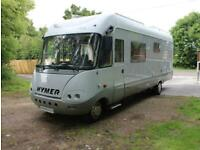 Hymer S820 A-Class 4 berth rear fixed bed motorhome for sale