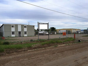 Light Industrial Shop with Yard for Lease