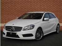 2014 64 Mercedes A Class 2.1 A200 CDI Sport 5dr (White, Diesel)
