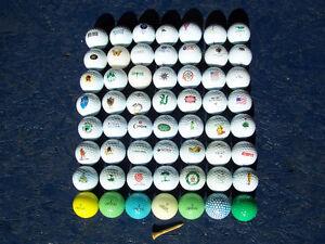 balle de golf pour collectionneur avec logo quantité 56 balles