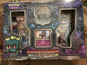Pokemon TCG: Marshadow Figure Collection Box - SALE