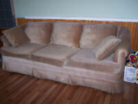 Caramel Colored Couch For Sale